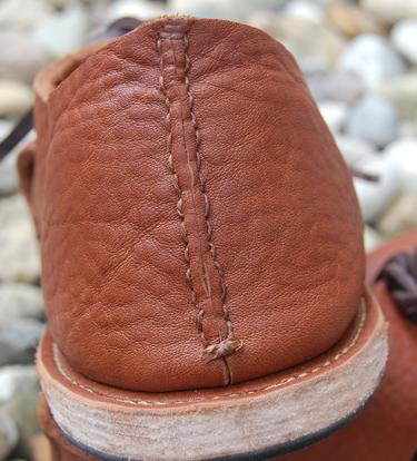 Hand Stitched Rear Seam