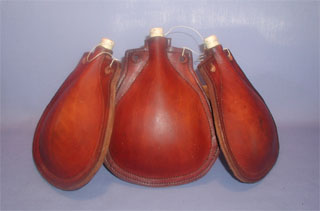 Leather Bottles